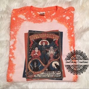 Sandeson Sisters Hocus Pocus Bleached Shirt